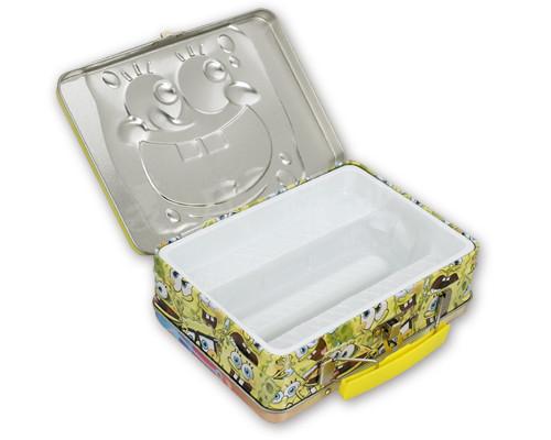卡通手提礼品包装盒展开图