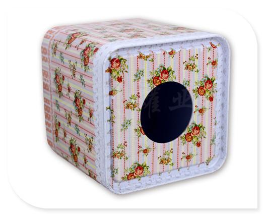 欧式创意纸巾铁盒包装|定制马口铁纸巾盒工厂|长方形