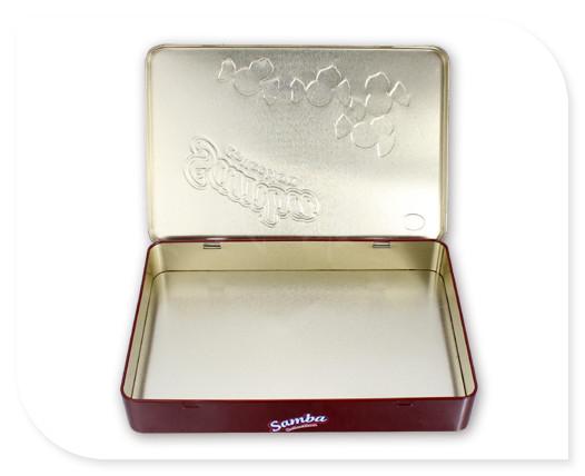 长方形巧克力糖礼盒展开图