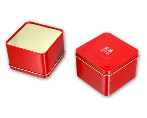 正方形天地盖包装盒设计展开图