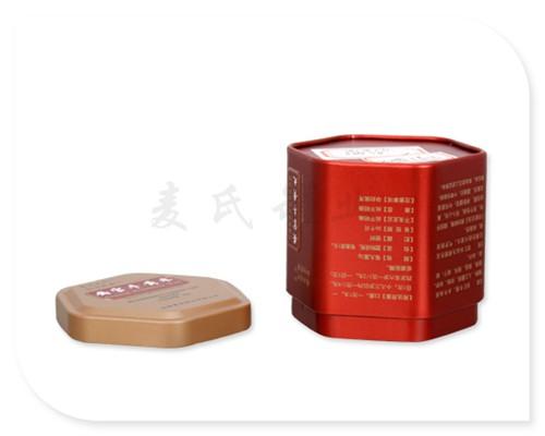 六角牛黄丸铁皮盒子背面图图片