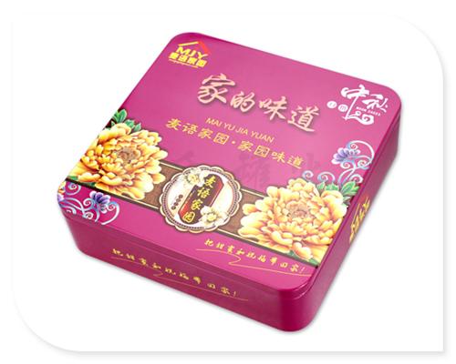 不仅符合产品自身产品的特征,还适应国内新型月饼铁盒包装的基本要求.
