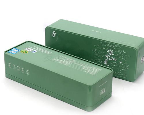 汉中绿茶铁盒子-铁盒包装