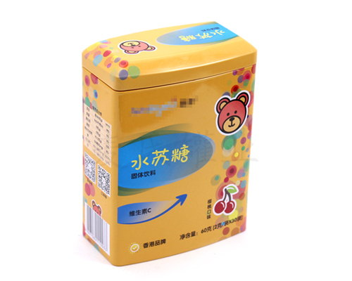 营养品铁盒包装
