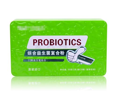 益生菌铁盒包装设计